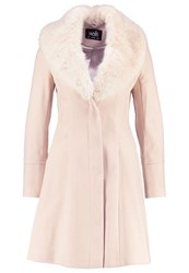 Wallis Classic Coat Stone Rose