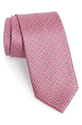 Men's J.Z. Richards Floral Silk Tie Pink