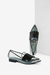 Nasty Gal Belan Kilt Clear Loafer