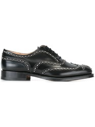 Church's Studded Oxford Shoes Black