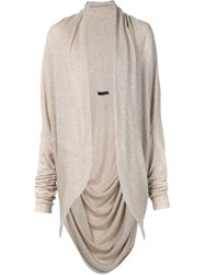 The Row 'Caro' Cardigan Nude And Neutrals