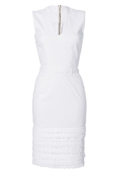 Preen Cotton V Neck Dress