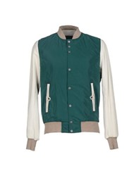 Yes London Coats And Jackets Jackets Men Emerald Green