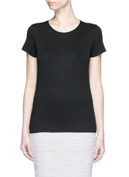 Rag And Bone 'Base' Crew Neck T Shirt Black