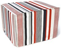 Jiti Siggy Stripes Ottoman