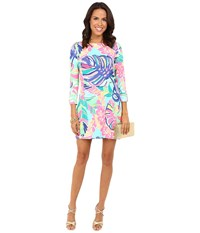 Lilly Pulitzer Upf 50 Sophie Dress Multi Exotic Garden Women's Dress