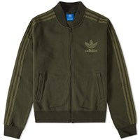 Adidas Adc Fashion Superstar Track Top Green