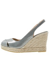 Kanna Wedges Pewter Grey