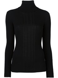 Dkny Roll Neck Jumper Black