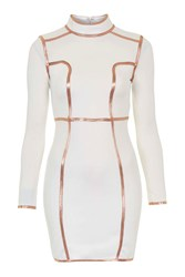 Contrast Binding Dress By Rare White