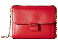 Lauren Ralph Lauren Lynwood Jude Shoulder Bag Crimson Shoulder Handbags Red