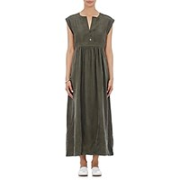 Sea Women's Cap Sleeve Maxi Dress Dark Green