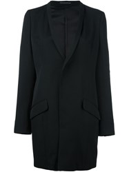 Y's Elongated Blazer Black