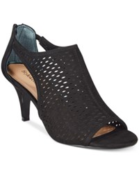 Styleandco. Style And Co. Haddiee Ankle Booties Only At Macy's Women's Shoes Black