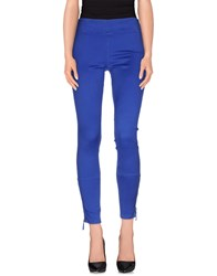 Ermanno Scervino Trousers Leggings Women Bright Blue