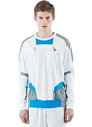Adidas By Kolor Climachill Hybrid Long Sleeved Top White