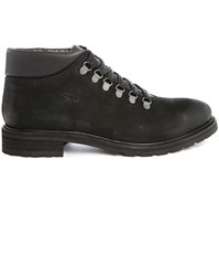 Selected Mountain Pr Black Leather Boots