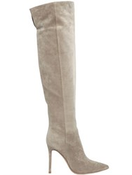 Gianvito Rossi 100Mm Suede Knee High Boots
