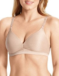 Warner's Play It Cool Wire Free Bra Toasted Almond
