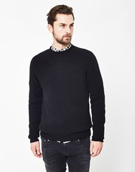 Selected Busk Crew Neck Jumper Black