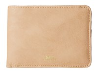 Obey Gentry Bi Fold Wallet Tan Wallet Handbags