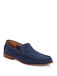 Cole Haan Topsail Suede Loafers Blazer Blue