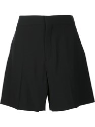 Chloe Tailored Cady Shorts Black