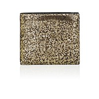 Maison Martin Margiela Men's Pixelated Billfold Gold