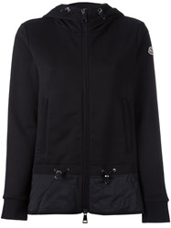 Moncler Hooded Short Jacket Black