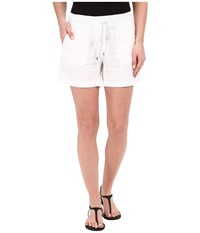 Tommy Bahama Two Palms Drawstring Shorts White Women's Shorts