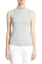 Women's Eleventy Sleeveless Mock Neck Tee