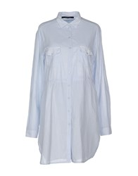 Twin Set Simona Barbieri Shirts Shirts Women Sky Blue