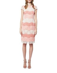 Erin Fetherston Lucienne Lace Dress Coral Multi
