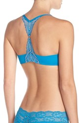 Skarlett Blue Women's 'Minx' Push Up Racerback Bra Tourmaline