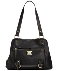Styleandco. Style And Co. Precious Cargo Satchel Black