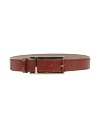 Dandg D And G Belts Brick Red