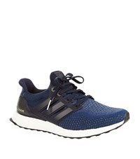 Adidas Ultra Boost Running Shoes Male Navy