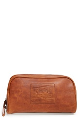Rawlings Sports Accessories Leather Travel Kit Cognac