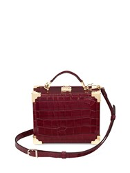 Aspinal Of London Mini Trunk Red