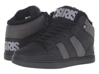 Osiris Convoy Mid Shr Black Charcoal Grey Men's Skate Shoes