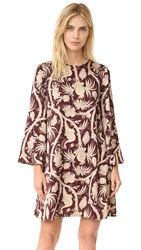 Zimmermann Karmic Swing Tunic Dress Bird Chintz