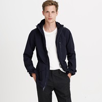 J.Crew Cotton Nylon X250 Hooded Jacket