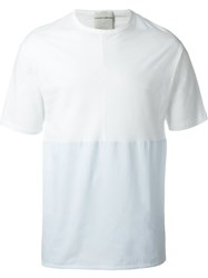 Stephan Schneider Panelled T Shirt White