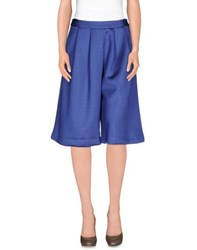 Le Ragazze Di St. Barth Trousers 3 4 Length Trousers Women Pastel Blue