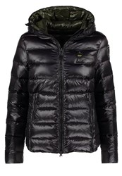 Blauer Down Jacket Black