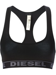 Diesel 'Ufsb Miley' Sports Bra Black