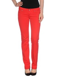 Carhartt Denim Pants Red