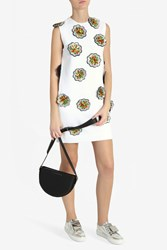 Victoria Beckham Women S Flower Embroidered Dress Boutique1 White