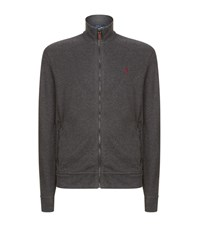 Polo Ralph Lauren Zip Up Jumper Male Grey