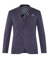 Ted Baker Onetwos Linen Jacket Navy